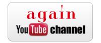 again youtube channnel アゲインユーチューブチャンネル